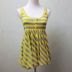 Juicy Couture striped bubble top (A27)